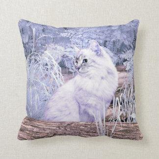 Cojín Decorativo Gato del gatito de la fantasía