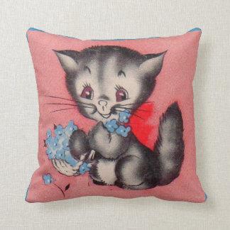 Cojín Decorativo gato dulce del gatito