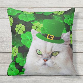 Cojín Decorativo Gato irlandés