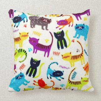 Cojín Decorativo Gatos