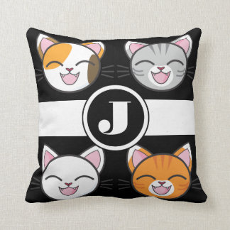 Cojín Decorativo Gatos, gatos y gatos reversibles