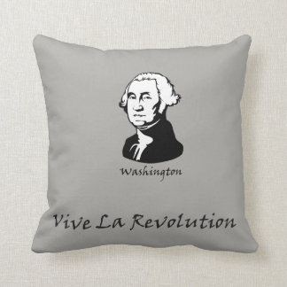 Cojín Decorativo George Washington - revolución del La de Vive