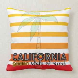 Cojín Decorativo Golden State de California de la mente