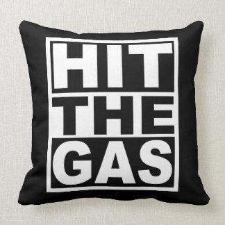 Cojín Decorativo Golpee el gas