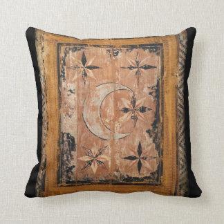 Cojín Decorativo gótico oscuro viejo de la pintura del vintage de