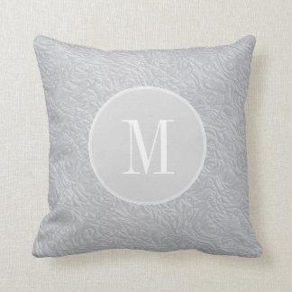 Cojín Decorativo Gris de plata elegante moderno