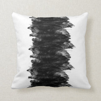 Cojín Decorativo Grunge blanco negro