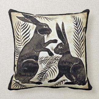 Cojín Decorativo Guillermo De Morgan Rabbits