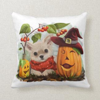 Cojín Decorativo Halloween para las chihuahuas