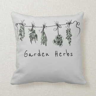 Cojín Decorativo Hierbas del jardín