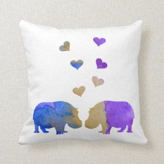 Cojín Decorativo Hipopótamos