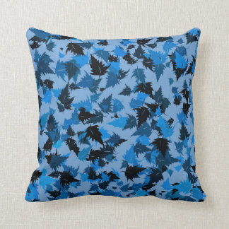 Cojín Decorativo Hojas azules del roble