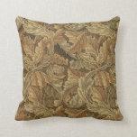Cojín Decorativo Hojas del Acanthus de William Morris, materia