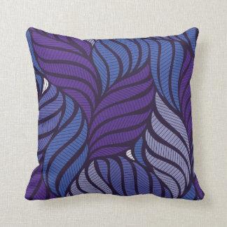 Cojín Decorativo Hojas violetas