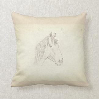 Cojín Decorativo horse head