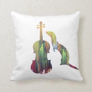 Cojín Decorativo Hurón y saxofón