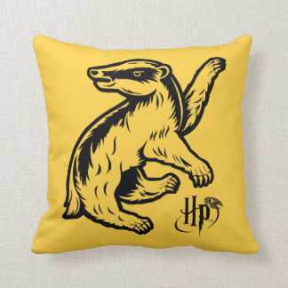 Cojín Decorativo Icono del tejón de Harry Potter el   Hufflepuff