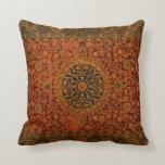 Cojín Decorativo ilustraciones de la manta de la alfombra de la
