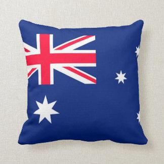 Cojín Decorativo Imagen de la bandera de Australia para el