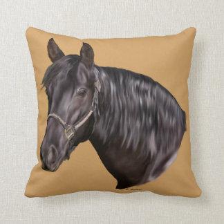 Cojín Decorativo Impresión andaluz del arte del caballo