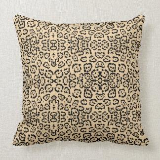 Cojín Decorativo Impresión animal Brown del gato del leopardo