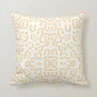Cojín Decorativo Impresión animal del gato del guepardo del moreno