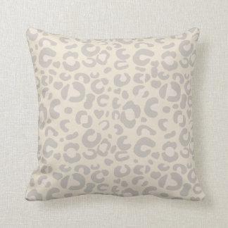 Cojín Decorativo Impresión animal neutral con clase del guepardo
