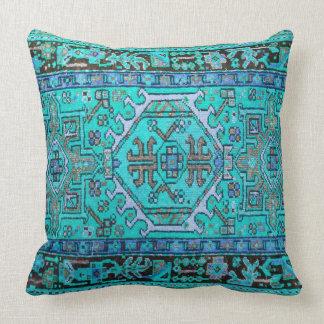 Cojín Decorativo Impresión de la alfombra oriental antigua en
