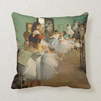 Cojín Decorativo Impresionista de la clase el   Edgar Degas el  