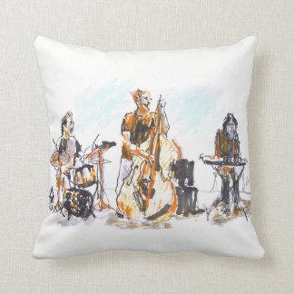 Cojín Decorativo Jazz music group