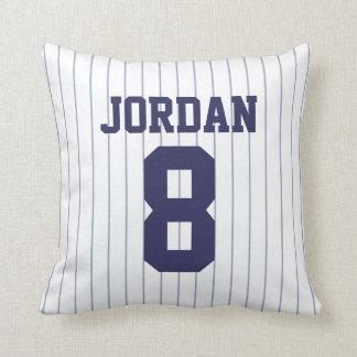 Cojín Decorativo Jersey de béisbol con número