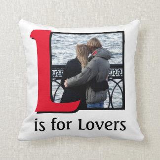 Cojín Decorativo L para los amantes