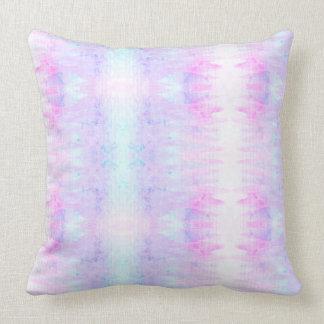Cojín Decorativo La acuarela Boho de la lavanda alinea púrpura