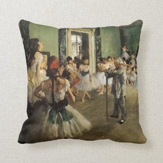 Cojín Decorativo La clase del ballet, Edgar Degas 1874