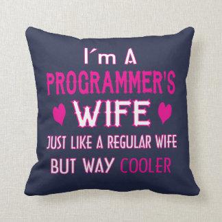 Cojín Decorativo La esposa del programador