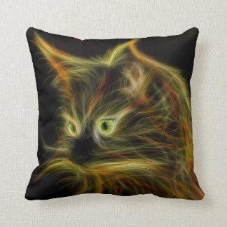 Cojín Decorativo La imaginación del gato