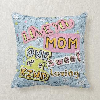 Cojín Decorativo La mejor mamá del mundo te amo