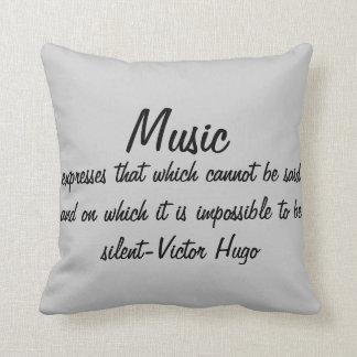 Cojín Decorativo La música expresa…