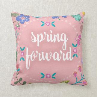 Cojín Decorativo La primavera bonita de la primavera remite floral