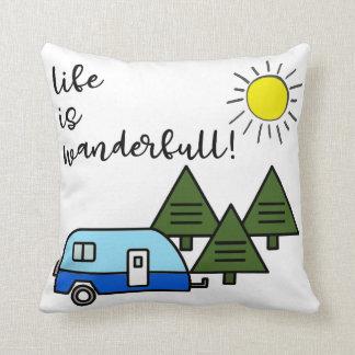 Cojín Decorativo ¡la vida es wanderfull!