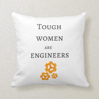 Cojín Decorativo Las mujeres duras son ingenieros