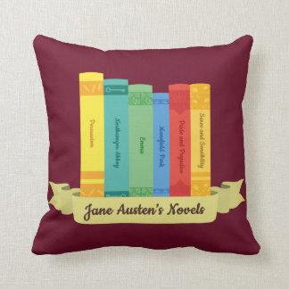 Cojín Decorativo Las novelas de Jane Austen III
