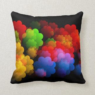 Cojín Decorativo Las nubes de sueños brillantemente coloreados