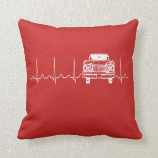 Cojín Decorativo Latido del corazón del coche