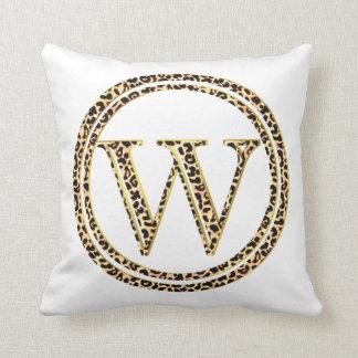 Cojín Decorativo Leopardo W