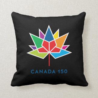 Cojín Decorativo Logotipo del funcionario de Canadá 150 -