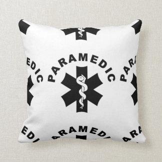 Cojín Decorativo Logotipo del paramédico el ccsme