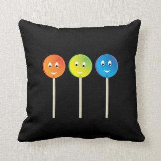 Cojín Decorativo Lollipops sonrientes