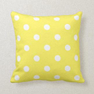 Cojín Decorativo Lunar amarillo