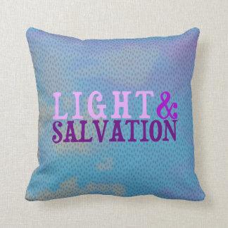 Cojín Decorativo LUZ Y SALVACIÓN cristianas